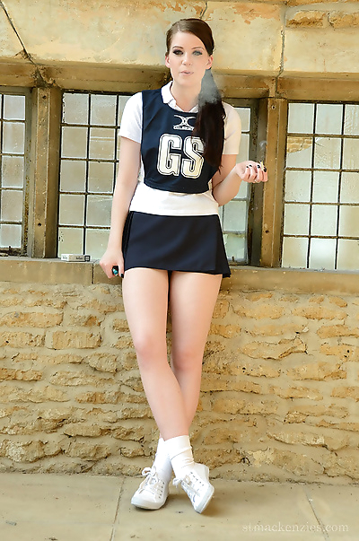 18 year old schoolgirl..