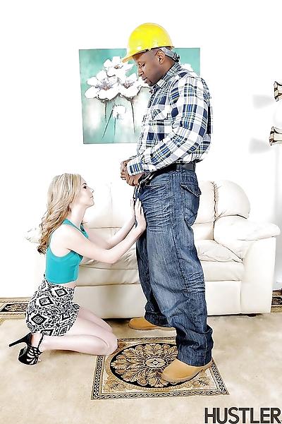 Young blonde pornstar Tysen..