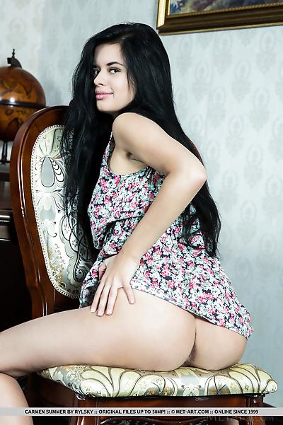 genç Latin Carmen summer..