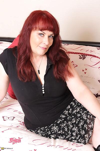 Mature redhead housewife..