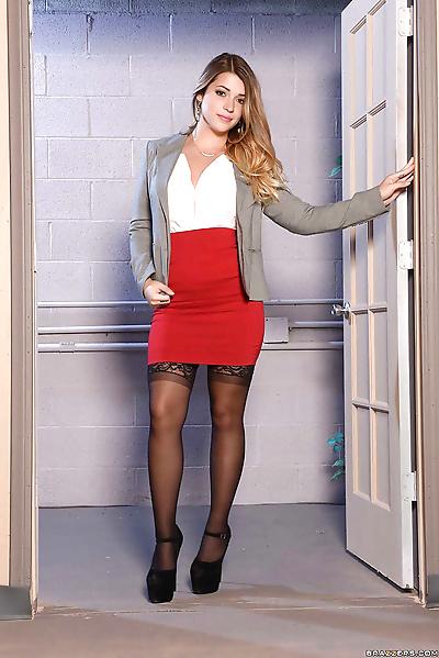 Teenage secretary Jenna..