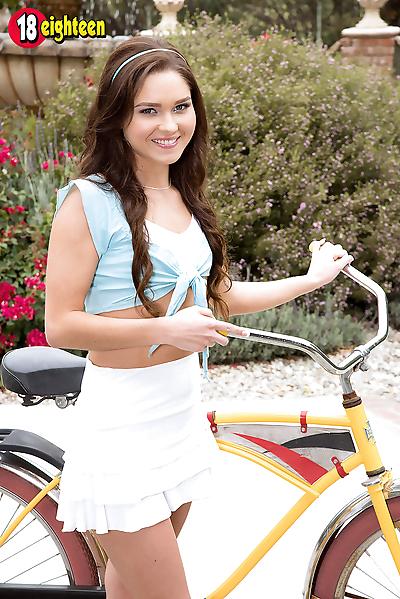 Biking beauty - part 160