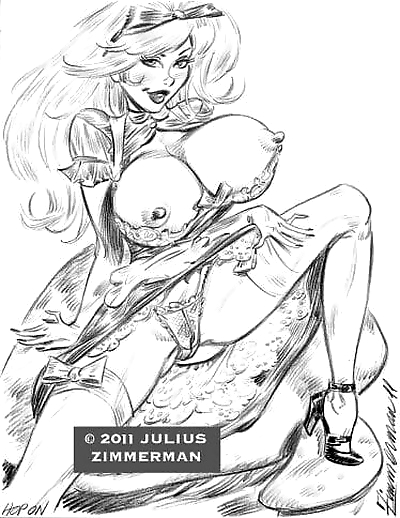Collected artwork of Julius..