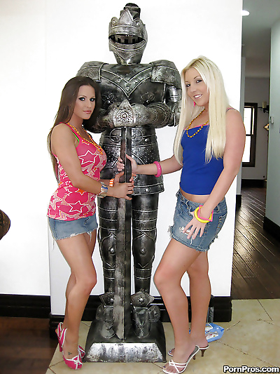 Teen lesbians with hot..