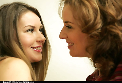 Gracefull lesbians in..