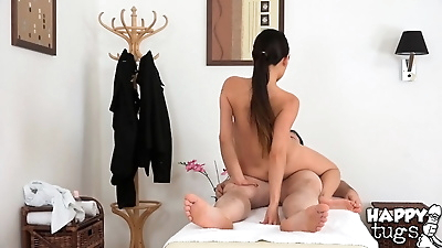 Asian masseuse Pussykat is..
